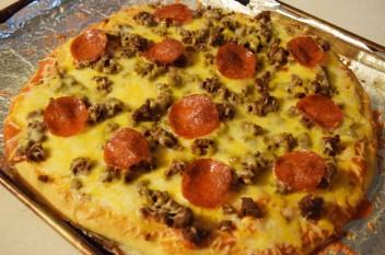 sponge pizza