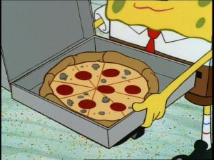 spongebob pizza