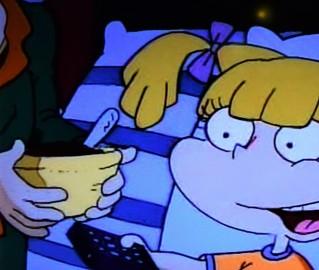 Rugrats Choc Pudding